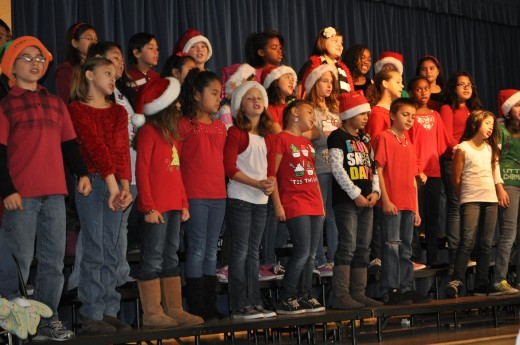Christmas concerts are a good reason to postpone your morning workout!