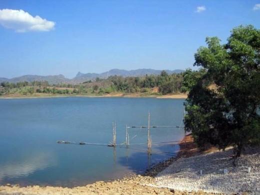 Lake outside of Mae Sot