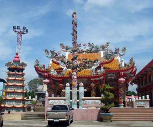 Temple in Mae Sot