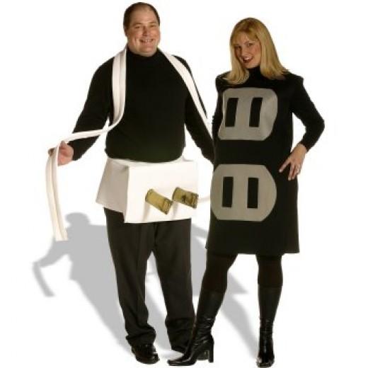 Funny Halloween Costume: Plug & Socket
