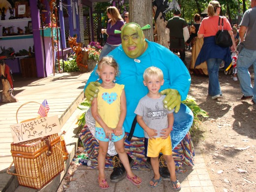 Yes, even Shrek was there!