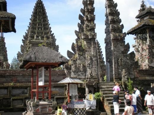 Pura Ulundanubatur, temple near the town of Ubud in Bali, Indonesia.