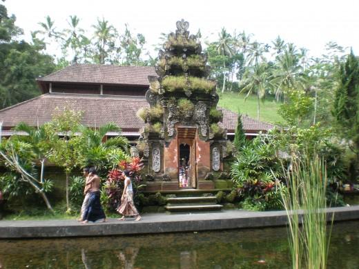 Tirta Empul Temple in Ubud, Bali, Indonesia.