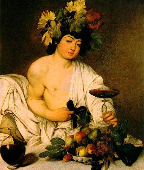 """""""Bacchus"""" by Caravaggio"""