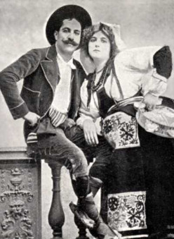 Rigo Jancsi and Clara Ward