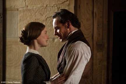 "Wasikowska and Fassbender danced around their feelings in ""Jane Eyre."""