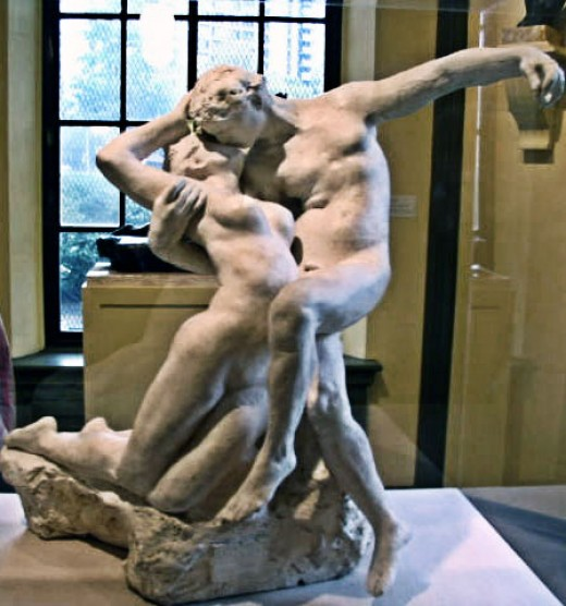 The Eternal Spring Kiss by Auguste Rodin