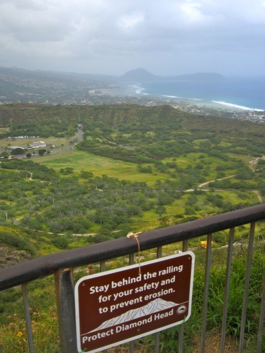 Top of Diamondhead Crater