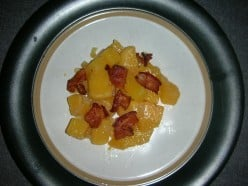 Rutabagas with Onions and Bacon