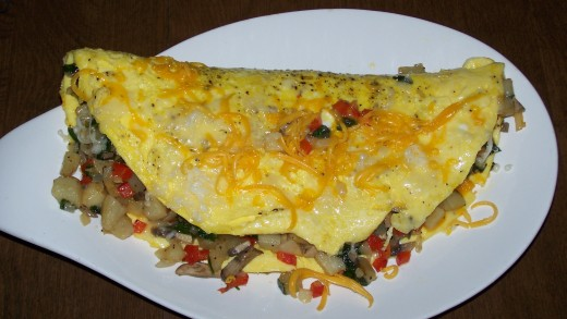 Omelets are one of the most delicious and versatile foods. There are so many things you can do with a omelet.