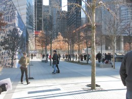 Plaza at One World Trade Center.