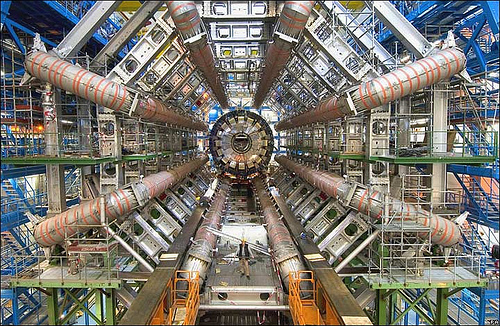 CERN - Large Hadron Collider.