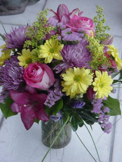 """Flowers are the perfect way to say """"I Love You"""""""