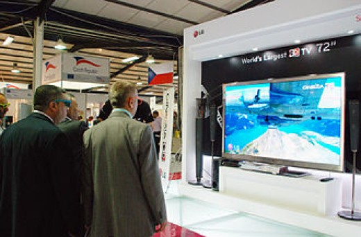 3-D television