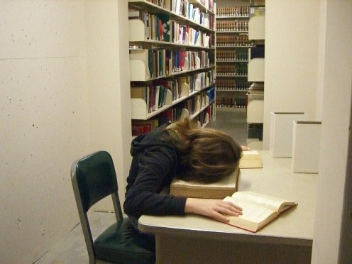 'A law student's life' (Image under Creative Commons with Attribution License)