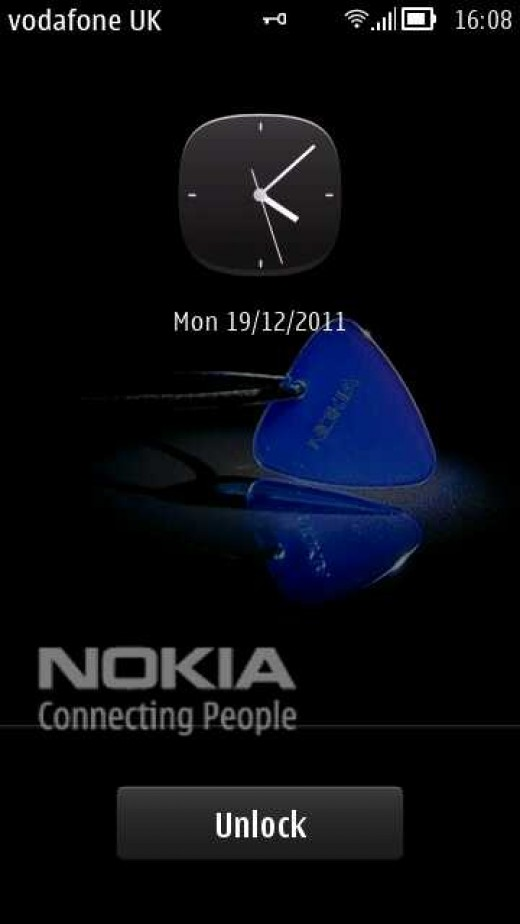 Lock screen E7