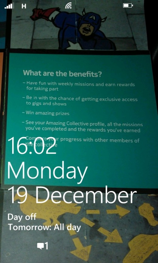 Lock Screen Lumia