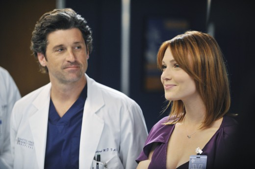 "Dempsey examines his competition on ""Grey's Anatomy."""