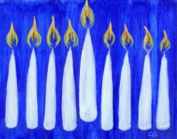 Hannukah Celebrations: Light the Candles! It's Hanukkah!