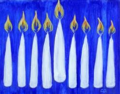 Hannukah Celebrations: Light the Candles! It's Hanukkah!