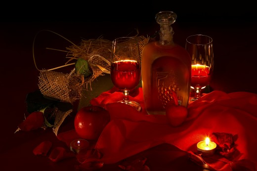 Valentines day ideas romantic dinners for Good romantic dinner ideas
