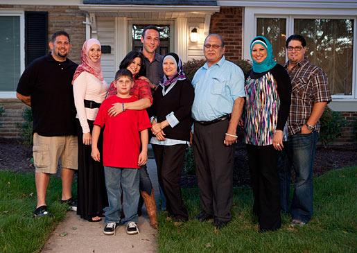 Bilal, Suehaila, Jeff, Lila, Moshen, Samira