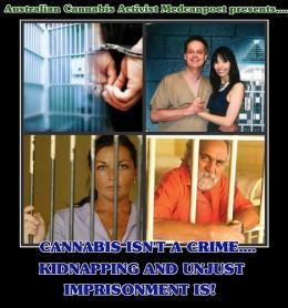 Cannabis isn't a crime from Medcanpoet Source: flickr.com