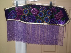 How to Make a Belly Dance Belt  - A Re-fashioning Resource