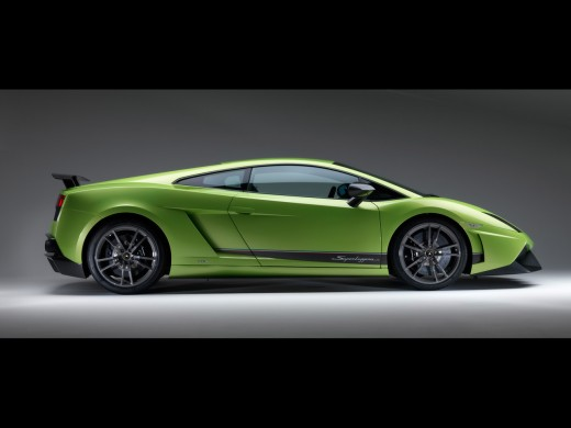 LP 570-4 Superleggera boasts a higher horsepower compared to the other Gallardo variants.