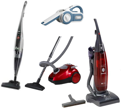 The most popular types of vacuum cleaners