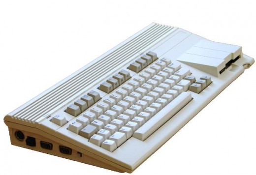It's definitely a Commodore machine. The Commodore 65 is unmistakable in its design