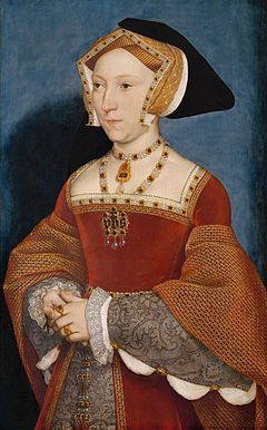 JANE SEYMOUR- A portrait by Hans Holbein the younger