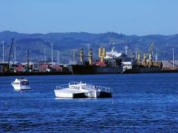 This is a Photo of the dock at Tauranga