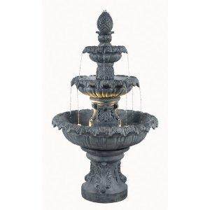 outdoor garden water fountain