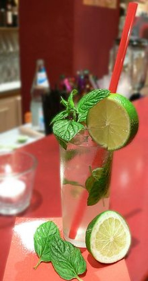 Mojito - the favorite drink of Ernest Hemingway