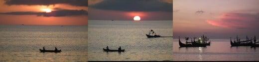 Bali Sunset at Jimbaran Beach