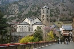 Andorra, number 1 with highest expectancy rate.
