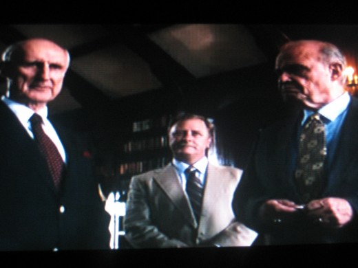 Mr. Phipps (left) with Mr. Hancock (right) during the toss coin (Photo by Travel Man from the movie Secretariat)