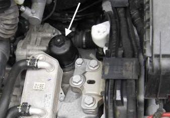DSG oil cap