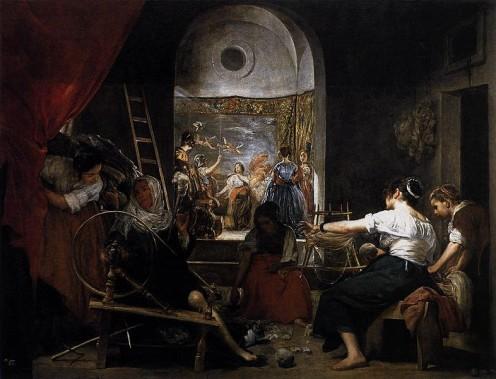 Fable of Arachne (aka The Tapestry Weavers) 1657, Prado Museum