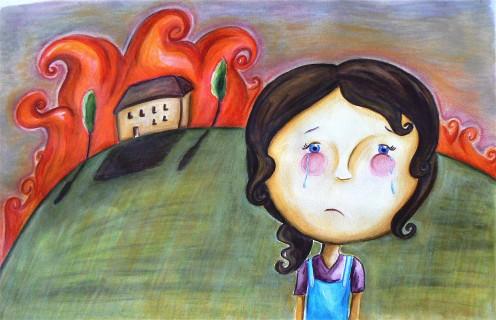 'Burnt Heart' by R Harriott