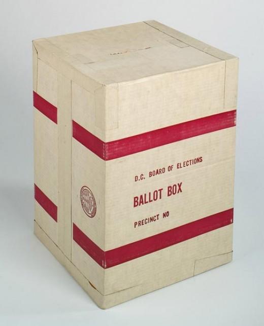 First Ballot Box