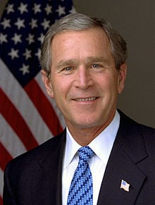 POTUS #41 PRESIDENT GEORGE W. BUSH