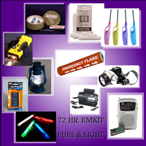 72 Hr. Emergency Kit Essentials Everyone Must have