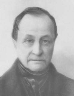 Sociologist Auguste Comte