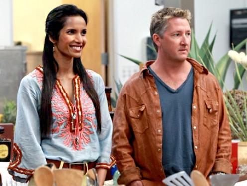 Padma and guest judge Tim Love