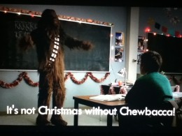 The Star Wars Christmas Special influenced Artie deeply.