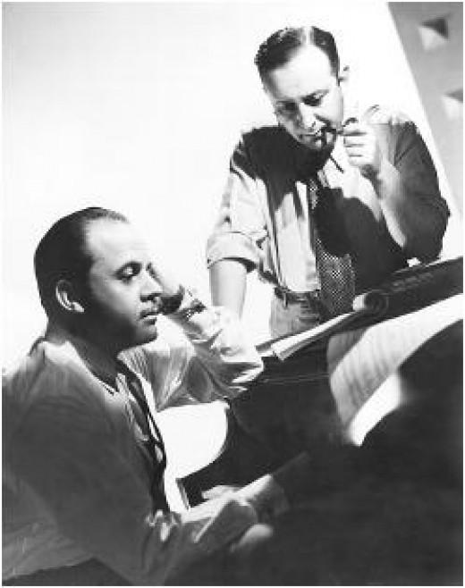 Nacio Herb Brown with Arthur Freed