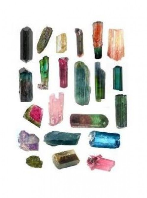 Tourmaline Crystal - Colors and types