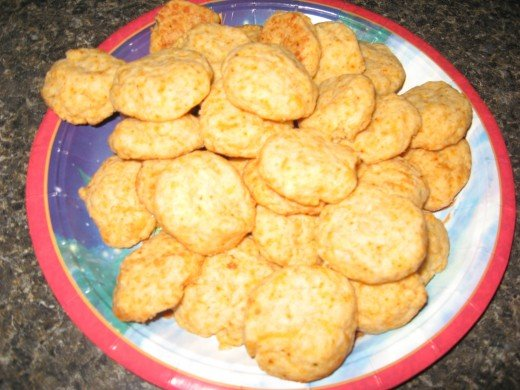 My cheese cookies - a softer, chewier version of old-fashioned cheese straws.